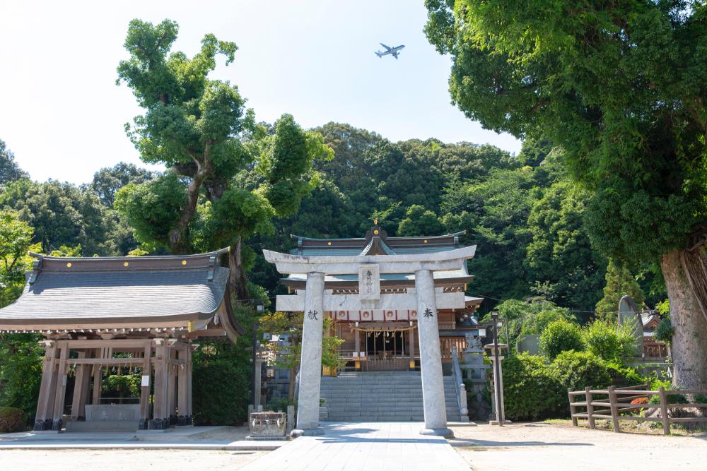 春日神社<