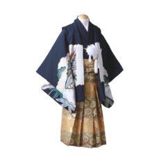 若竹(わかたけ)【正絹】・紺 or 黒